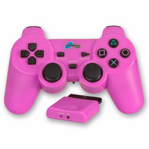Joystick Noga Rosa Bluetooth Ps2 Pc Vibra Quality Toys