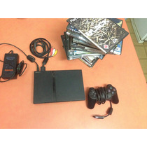 Sony Playstation 2 (chipeada+ Memory Card+ Juegos)