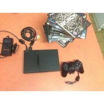 Sony Playstation 2 (chipeada+ Memory Card+ Juegos)