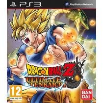 Ps3 Dragon Ball Z Ultimate Tenkaichi Fisico!!!