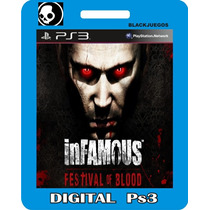 Infamous Festival Of Blood Ps3 Digital Blackjuegos
