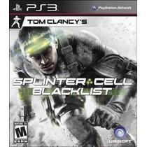 Tom Clancy Splinter Cell Ps3 Digital!!