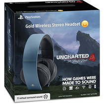 Headset Auriculares Uncharted 4 Edcion Limitada Ps4 Ps3 Vita