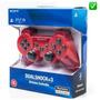 Joystick Ps3 Rojo Sony® Dualshock 3 Inalámbrico Original !!!