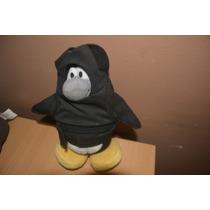Peluche Club Penguin Ninja Excelente 21cm Sin Moneda
