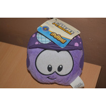 Peluche Club Penguin Puffle Violeta Excelente Sin Moneda