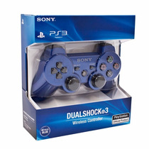 Sony Dualshock 3 Joystick Ps3 Original Azul Blister