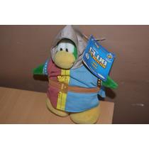 Peluche Club Penguin Excelente 21cm Sin Moneda