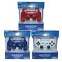 Joystick Ps3 Dualshock 3 Rojo Azul Blanco Inalambrico Oferta