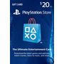 Psn Card 20$ Usd Store Usa Entrega Inmediata