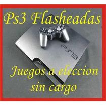 Ps3 160gb Flashada Regalos A Eleccion - Discos Externos