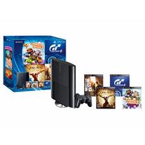 Playstation 3 500gb + 4 Juegos Fisicos Factura Garantia