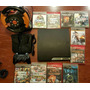Playstation 3 Slim 160gb 11 Juegos Volante Pedalera