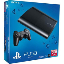 Combo Playstation 3 Ps3 500 Gb + 4 Juegos Fisicos