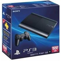 Playstation 3 500gb+the Last Of (fisico)+2 Joy-la Plata!