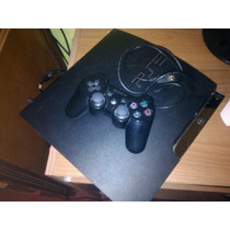Ps3 Slim 320 Gb!!!! Flasheada! 2 Joysticks Y 30 Juegos!!!