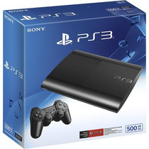 Playstation 3 500gb Super Slim 2015 220 Directo Fenixgames!