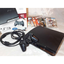 Playstation 3 160gb Joystick Juegos Impecable!
