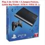 Playstation 3 Sony Super Slim Ps3 12 Gb Hd Blu Ray. Usada.-