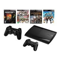 Play Station 3 Sony 12 Gb Con 2 Joystick Y 1 Juego