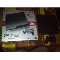 Playstation 3 Slim 320 Gb Perfecto Estado Y Completa