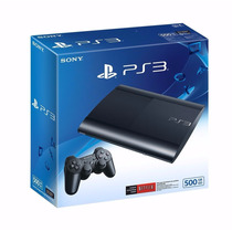 Playstation 3 Ps3 Ultra Slim 500gb 1 Joystick Devotostore