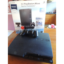 Playstation 3 Ps3 Slim 160gb 12 Juegos Envio Gratis!!
