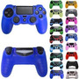 Funda Silicona Joystick Skin Exclusiva Ps4 + Light Decals