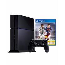 Playstation 4 Ps4 500gb + Control Dualshock + Fifa 2016