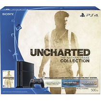 Rosario Sony Playstation 4 500 Gb Ps4 + Uncharted Collection