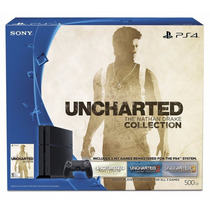Playstation 4 Ps4 Joystick Dualshock + Uncharted Collection