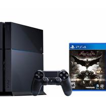 Playstation 4 500gb + Batman Arkham Knight Garantia 1 Año