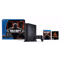 Combo Ps4 500gb +black Ops3 F+joystick Dualshock+hdmi Y Gtía