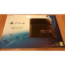 Playstation 4 1tb Negro C/2 Controles Nuevo! En Stock!