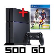 Sony Playstation 4 500 Gb + Juego A Elección - Gtia 1 Año