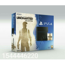 Playstation 4 500gb Uncharted Collection + Joystick