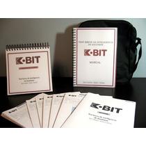 K-bit - Test Breve De Inteligencia De Kaufman - 4 A 90 Años