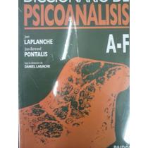 Diccionario De Psicoanalisis .editorial Paidos-nacion