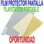 Film Protector De Pantalla Para Psp Serie 1000, 2000 Y 3000