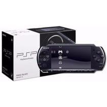Psp Portatil Sony Flash + Memoria 8 Gb + 5 Juegos Local