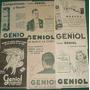 Publicidad Geniol Lote 60 Antiguas Publicidades Distintas