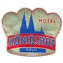 Etiqueta De Hotel Para Valija - Hotel Konigshof