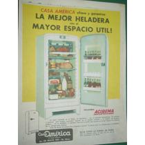 Publicidad Clipping Heladeras Acirema Casa America Espacio
