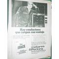 Publicidad Antigua Autos Motores Perkins Argentina Plan Fac