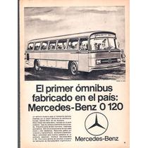 Antigua Publicidad Mercedez Benz Colectivo 0 120