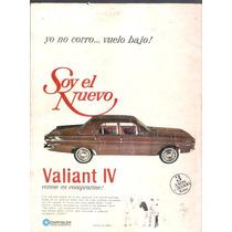 Antigua Publicidad Auto Valiant