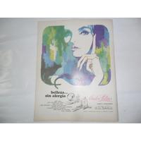 Andre Latour Ar. Ex Products Co Cosmetica Publicidad 1967