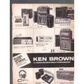Antigua Publicidad Equipos De Musica Ken Brown