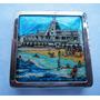 Monijor62- Mar Del Plata Playa Bristol Antigua Polvera Metal