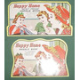 Dos Antiguos Blister Agujas De Coser Impecables Publicidad